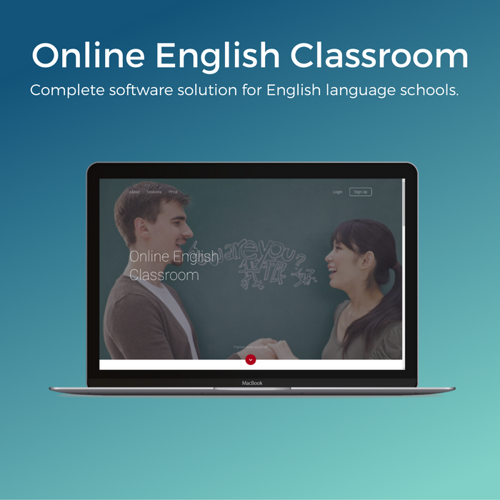 Online english classroom